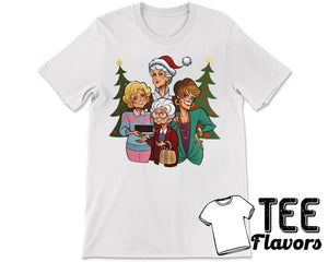 Golden Girls TV Show Christmas Tee / T-Shirt
