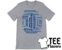 Load image into Gallery viewer, Impractical Jokers Tru TV Name Game Word Collage Tee / T-Shirt