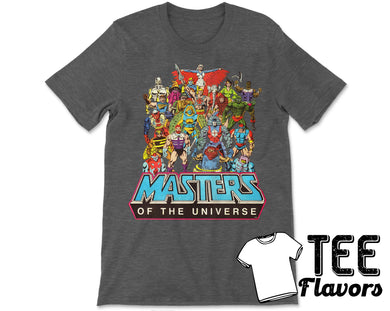 Masters Of The Universe He-Man 80's Comic Cartoon Tee / T-Shirt