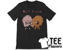 Load image into Gallery viewer, Krang and Meatwad Best Friends TMNT Aqua Teen Adult Swim Tee / T-Shirt