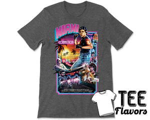 Miami Connection 80s Cult Classic Martial Arts Tee / T-Shirt