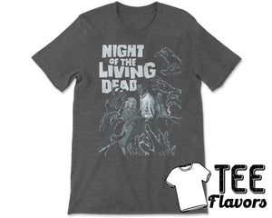 Night Of The Living Dead Zombie Movie Tee / T-Shirt