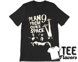 Plan 9 From Outer Space Sci-fi  Movie  Tee / T-Shirt