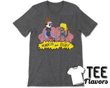 Load image into Gallery viewer, Regular Show Beavis And Butthead as Mordcai And Rigby Cartoon Network Tee / T-Shirt
