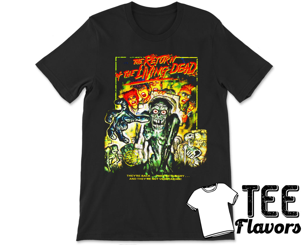 The Return of the Living Dead 1985 Comedy Horror Film Tee / T-Shirt