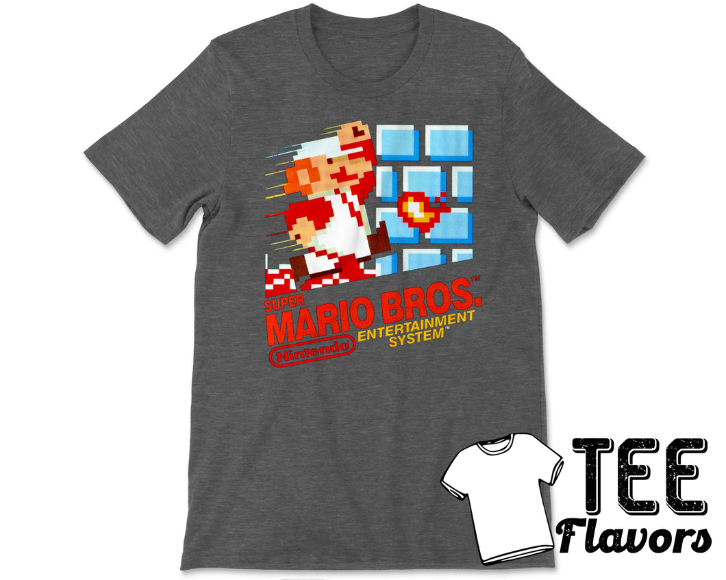 Super Mario Bros Nintendo's Classic Video Game Tee / T-Shirt