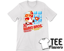 Load image into Gallery viewer, Super Mario Bros Nintendo's Classic Video Game Tee / T-Shirt