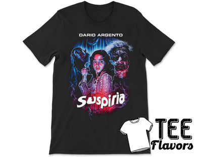 Suspiria Italian Supernatural Horror Film Tee / T-Shirt