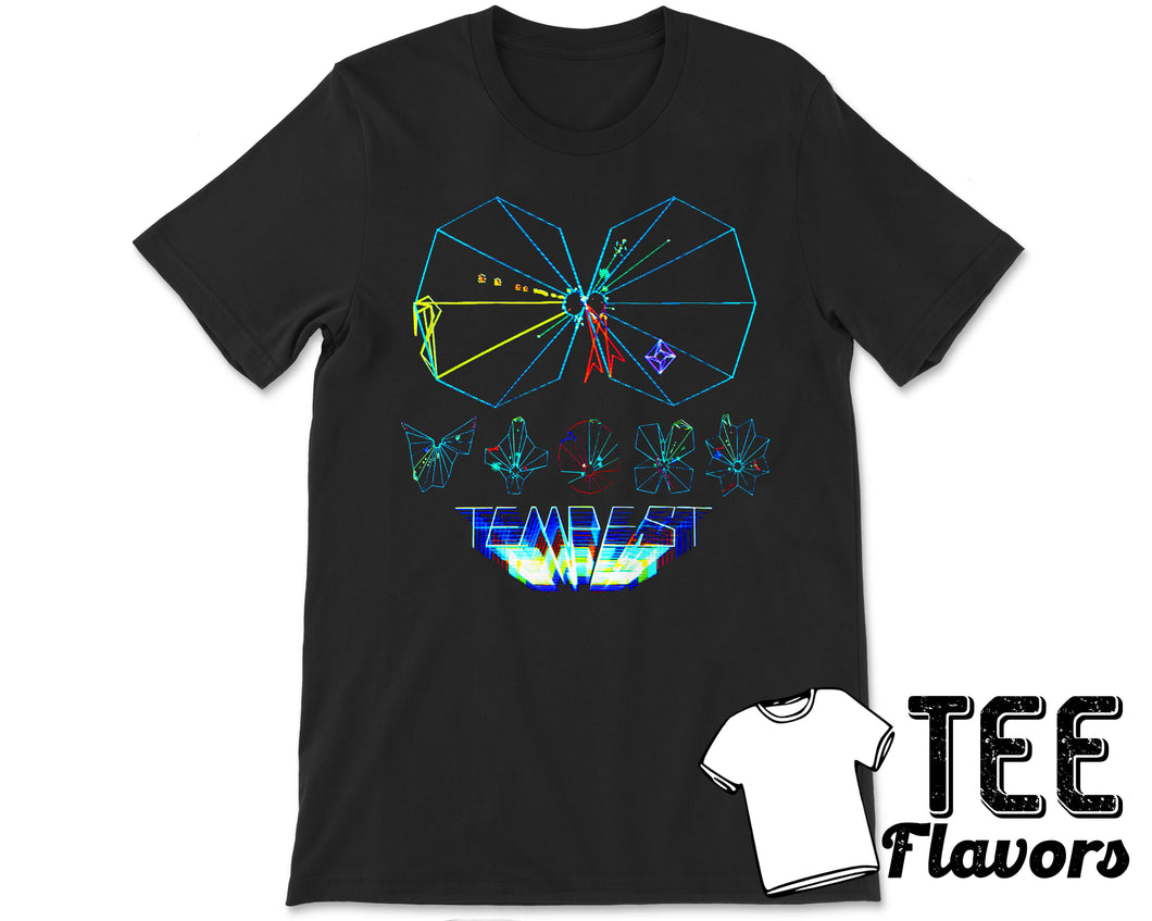 Retro Atari Tempest Arcade Video Game Tee / T-Shirt