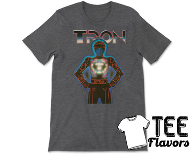 TRON Movie 1982 Jeff Bridges Tee / T-Shirt