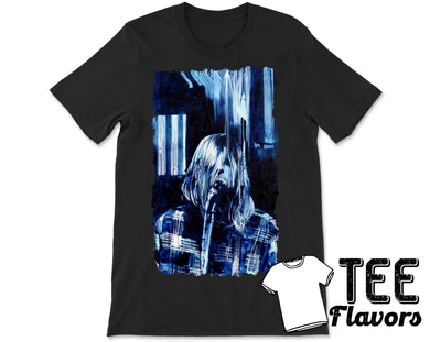 Curt Cobain Nirvana Art Fashion Tee / T-Shirt