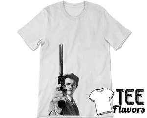 Clint Eastwood Dirty Harry Fashion Tee / T-Shirt