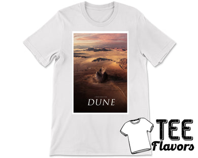 Dune Movie Sandworm Fashion Tee / T-Shirt