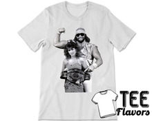 Load image into Gallery viewer, Macho Man and Miss Elizabeth Wrestling Tee / T-Shirt