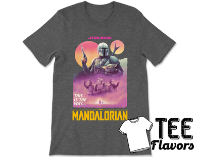 The Mandalorian Disney Star Wars T.V Show  Tee / T-Shirt