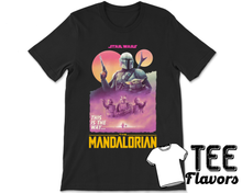 Load image into Gallery viewer, The Mandalorian Disney Star Wars T.V Show  Tee / T-Shirt