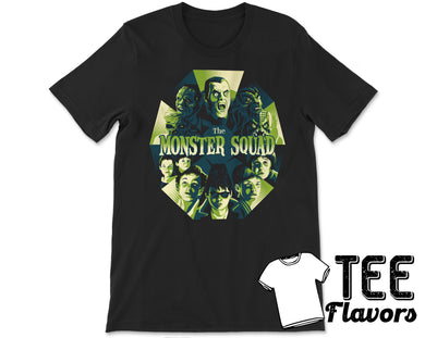 Monster Squad 80's Teen Horror Movie Tee / T-Shirt