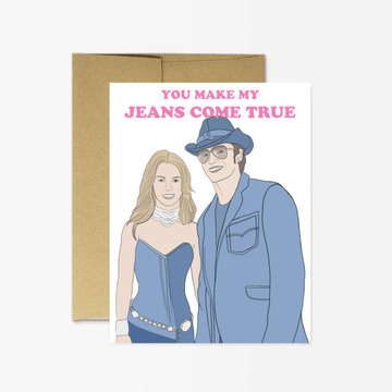 Jeans Come True Card