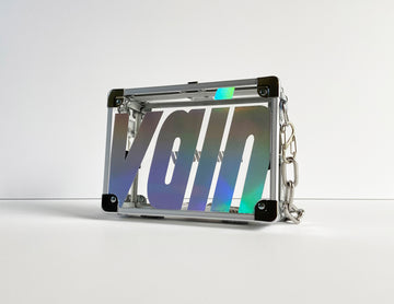 Iridescent Pocket Box Handbag