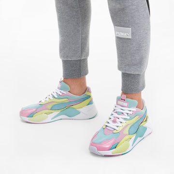 RS-X3 Plastic Sneakers Gulf Stream-Sunny Lime