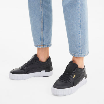Cali Sport Sneakers Black-White