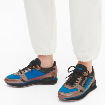 Mile Rider Wonder Galaxy Sneakers Rose Gold-Dresden Blue