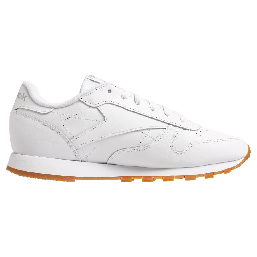 Classic Leather Shoe White / Gum