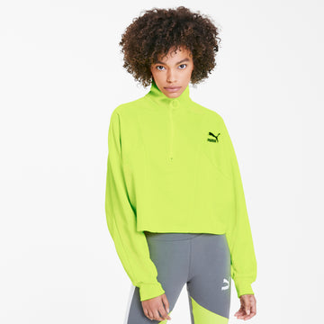 TFS Cropped Half Zip