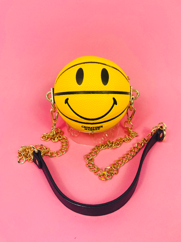 Chinatown Market Micro Smiley 3.0 Basketball Bag