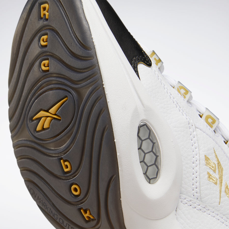 Question Mid Double Cross White / Black / Gold