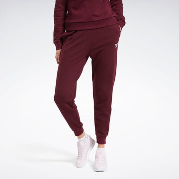 French Terry Pants Maroon