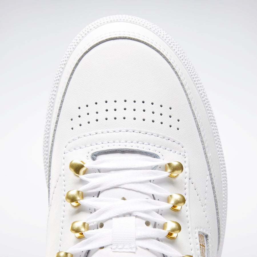 Club C 85 Shoes White / Gold