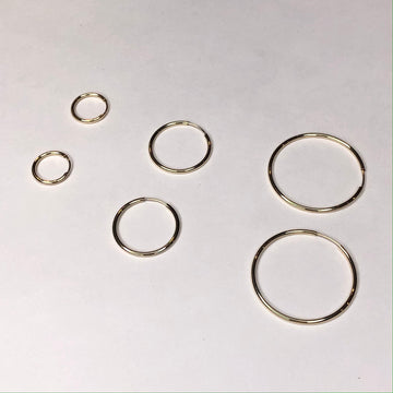 Thin Seamless Hoops