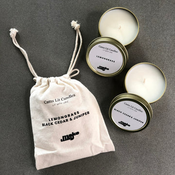 100% Soy Wax Candle Mini Set
