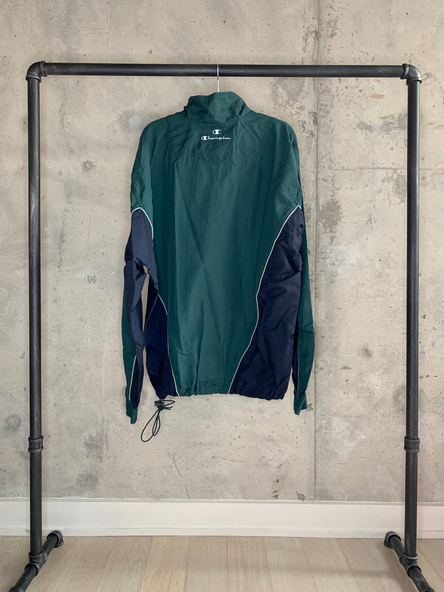 Vintage Champion Oversized Windbreaker