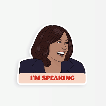 Kamala I'm Speaking Sticker