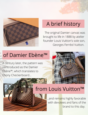 Pre-Loved Authentic Louis Vuitton Bergamo GM Handbag in Damier Ebene from The Palm Beach Trunk Designer Resale and Luxury Consignment the-palm-beach-trunk.myshopify.com
