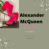 Alexander McQueen Booties Sold by the Palm Beach Trunk