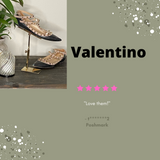 Valentino Rockstud Caged Ballet Flats Sold by the Palm Beach Trunk