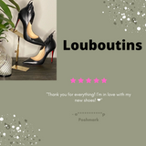Christian Louboutin Victorina Heels Sold by the Palm Beach Trunk