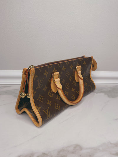 Louis Vuitton Vintage Monogram Popincourt Handbag the-palm-beach-trunk.