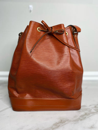 Louis Vuitton Epi Noe Drawstring Shoulder Bag-The Palm Beach Trunk Designer Resale and Luxury Consignment