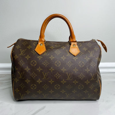Louis Vuitton Monogram Speedy 30-The Palm Beach Trunk Designer Resale and Luxury Consignment