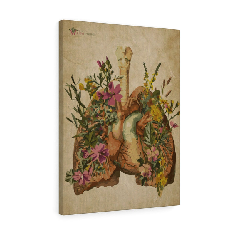 """Lungs In Bloom"" Canvas Print"