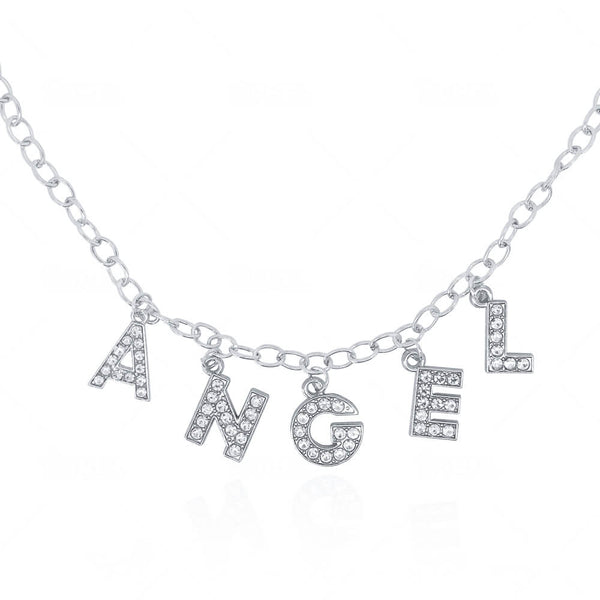 'Angel' Necklace – Silver