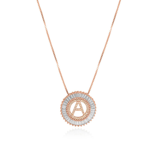 Ava Necklace – Rose Gold