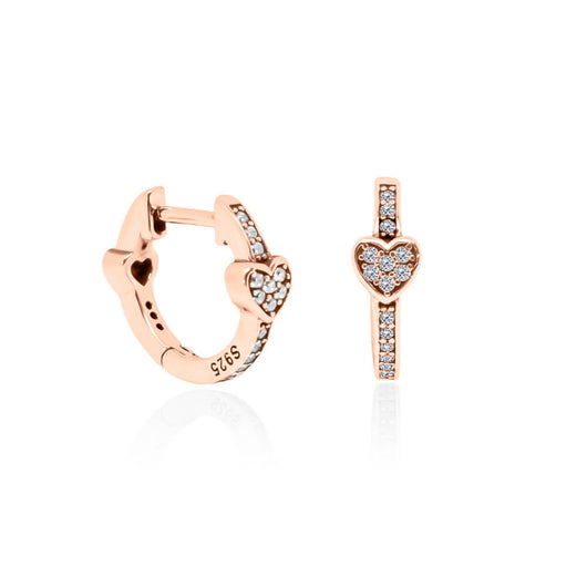 Destiny Earrings – Rose Gold