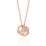 Geri Necklace – Rose Gold