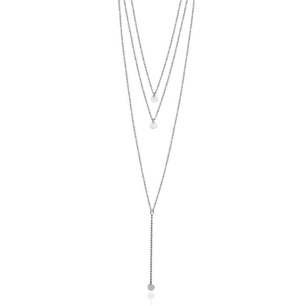 Gwen Necklace Trio - Silver