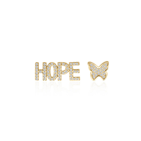 'Hope' Earrings – Gold